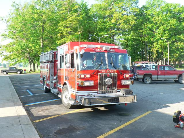 Smoke In The Building Eup Edinboro Volunteer Fire Department